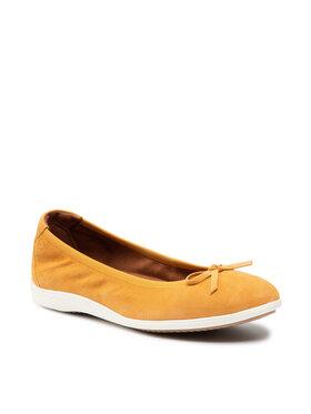 Tamaris Tamaris Balerina 1-22100-26 Narancssárga
