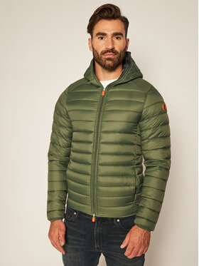 Save The Duck Save The Duck Geacă din puf D3065M GIGAY Verde Regular Fit