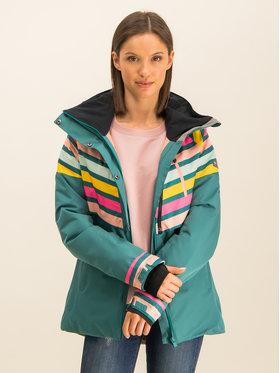 Roxy Roxy Geacă pentru snowboard Frozen Flow ERJTJ03219 Verde Short Fit