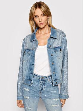 Liu Jo Liu Jo Kurtka jeansowa UA1063 D4594 Niebieski Regular Fit