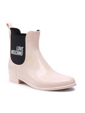 LOVE MOSCHINO LOVE MOSCHINO Bottes de pluie JA21173G1DIR3601 Rose