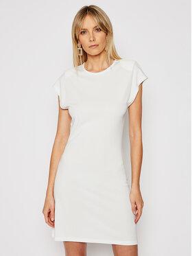 Silvian Heach Silvian Heach Sukienka codzienna Gengrass PGP21261VE Biały Slim Fit