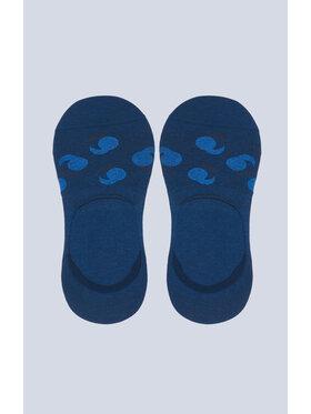 Vistula Vistula Pánske krátke ponožky Kelso XZ1138 Modrá