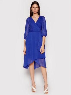 DKNY DKNY Kokteilinė suknelė DD0DI570 Tamsiai mėlyna Regular Fit