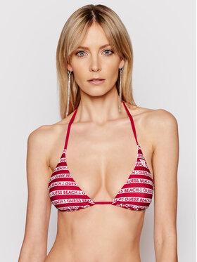 Guess Guess Bikini partea de sus E1GJ16 MC040 Vișiniu