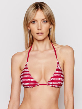Guess Guess Bikini pezzo sopra E1GJ16 MC040 Bordeaux