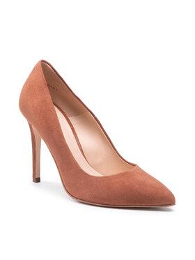 Solo Femme Solo Femme Pantofi cu toc subțire 34201-A8-L41/000-04-00 Maro