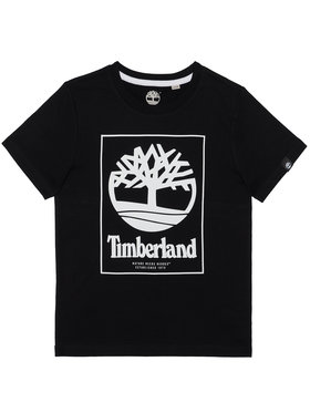 Timberland Timberland T-Shirt T45815 Czarny Regular Fit