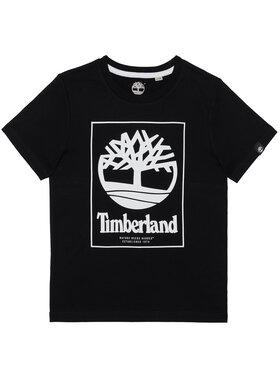 Timberland Timberland Tričko T45815 Čierna Regular Fit