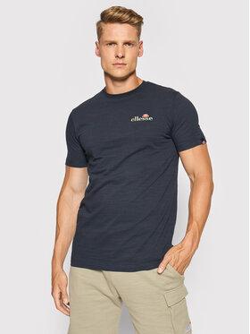 Ellesse Ellesse T-Shirt Mille Tee SHJ11941 Granatowy Regular Fit
