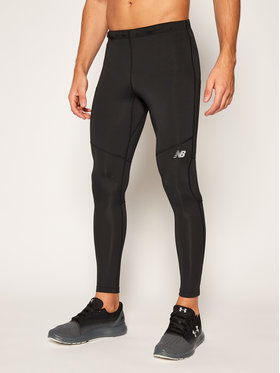 New Balance New Balance Colanți Core Tight NBMP8192 Negru Slim Fit