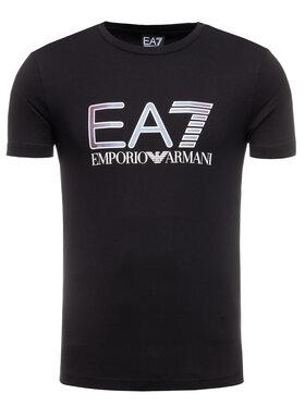 EA7 Emporio Armani EA7 Emporio Armani T-Shirt 3HPT15 PJ02Z 1200 Μαύρο Regular Fit