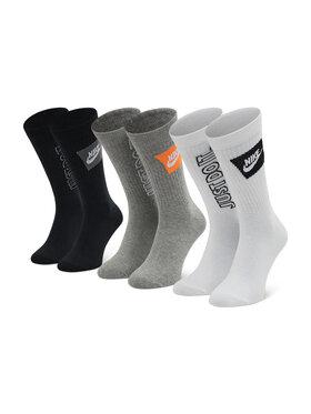 Nike Nike Set od 3 para unisex visokih čarapa DA2583 903 Bijela