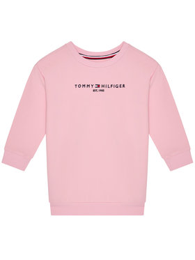 TOMMY HILFIGER TOMMY HILFIGER Sukienka codzienna Essential KG0KG05449 D Różowy Regular Fit
