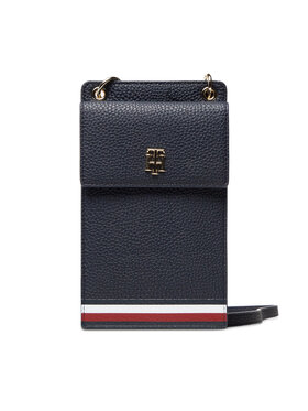Tommy Hilfiger Tommy Hilfiger Torebka Th Element Phone Wallet Corp AW0AW10542 Granatowy