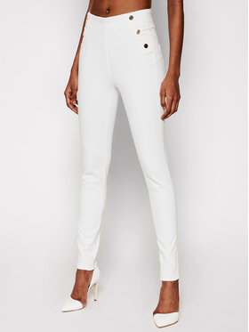 Guess Guess Jeans W1GA56 D4DN1 Bianco Skinny Fit