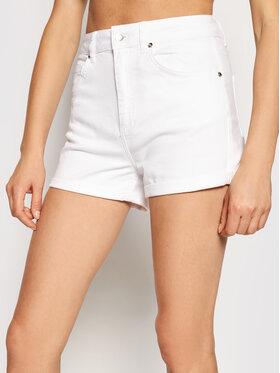 Liu Jo Liu Jo Szorty jeansowe WA1253 T4033 Biały Slim Fit