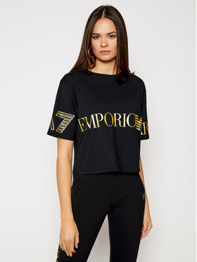 EA7 Emporio Armani EA7 Emporio Armani T-shirt 3KTT18 TJ29Z 0200 Noir Regular Fit