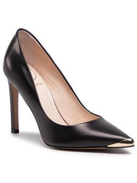 Baldowski Baldowski Pantofi cu toc subțire D03561-1451-004 Negru