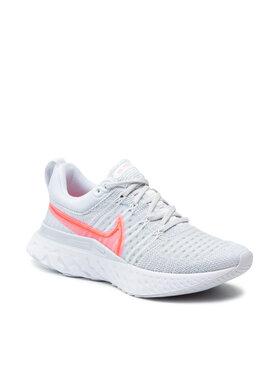 Nike Nike Boty React Infinity Run Fk 2 CT2423 004 Šedá