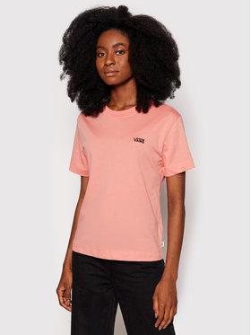 Vans Vans T-Shirt Junior V VN0A4MFL Rosa Boxy Fit