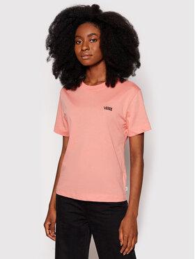 Vans Vans T-Shirt Junior V VN0A4MFL Różowy Boxy Fit