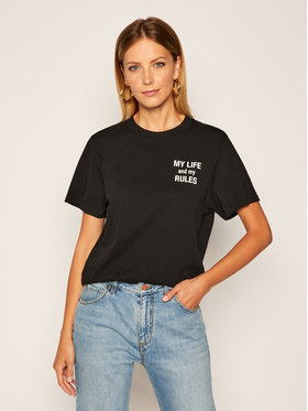 IRO IRO T-Shirt Mylife AN158 Schwarz Regular Fit