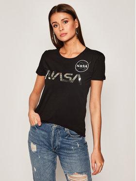 Alpha Industries Alpha Industries T-shirt Nasa Pm 198053 Noir Regular Fit