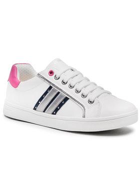 Geox Geox Sneakersy J Djrock G. G J944MG 000BC C0899 S Biały