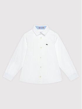 Lacoste Lacoste Košeľa CJ8077 Biela Regular Fit