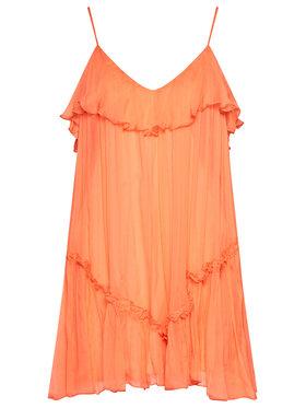 Nissa Nissa Marškinėliai RC12445 Oranžinė Regular Fit