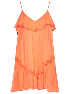 Nissa Nissa Top RC12445 Orange Regular Fit