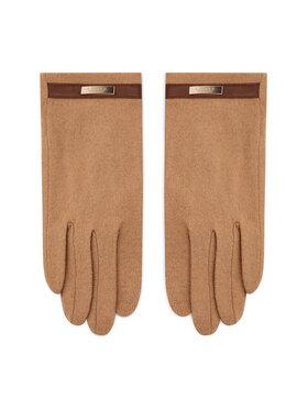 Lauren Ralph Lauren Lauren Ralph Lauren Moteriškos Pirštinės Belted Knit Glove 454855043003 Ruda