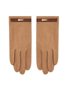 Lauren Ralph Lauren Lauren Ralph Lauren Rękawiczki Damskie Belted Knit Glove 454855043003 Brązowy