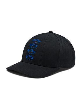 Boss Boss Șapcă Cap-Multilogo 50443602 Negru
