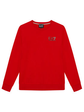 EA7 Emporio Armani EA7 Emporio Armani Bluza 6KBM51 BJ05Z 1451 Czerwony Regular Fit
