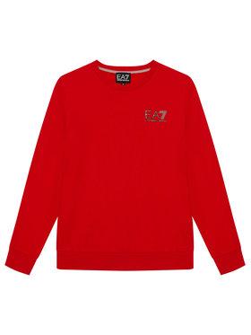EA7 Emporio Armani EA7 Emporio Armani Sweatshirt 6KBM51 BJ05Z 1451 Rot Regular Fit