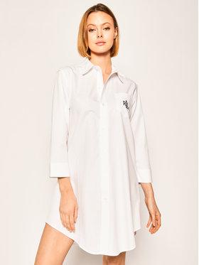 Lauren Ralph Lauren Lauren Ralph Lauren Nachthemd I8131326 Weiß Regular Fit