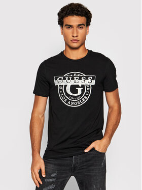 Guess Guess T-Shirt M1BI35 J1311 Černá Slim Fit