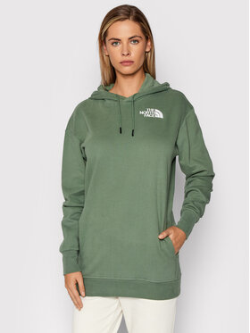 The North Face The North Face Bluză NF0A55GKV1T1 Verde Relaxed Fit