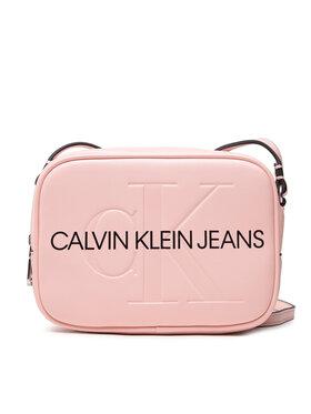 Calvin Klein Jeans Calvin Klein Jeans Дамска чанта Sculpted Camera Bag Mono K60K608373 Розов