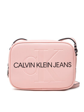 Calvin Klein Jeans Calvin Klein Jeans Torebka Sculpted Camera Bag Mono K60K608373 Różowy