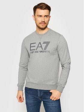 EA7 Emporio Armani EA7 Emporio Armani Sweatshirt 3KPM60 PJ05Z 3905 Grau Regular Fit