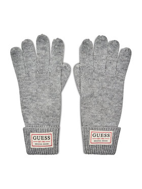 Guess Guess Herrenhandschuhe Not Coordinated Gloves AM8730 WOL02 Grau