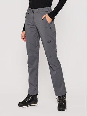 Jack Wolfskin Jack Wolfskin Spodnie outdoor Activate Light 1503842 Szary Regular Fit