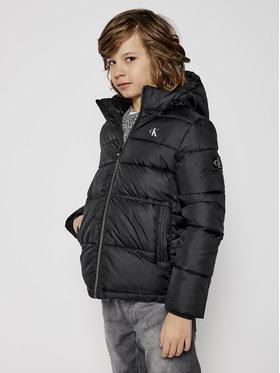 Calvin Klein Jeans Calvin Klein Jeans Pūkinė striukė Essentail IB0IB00557 Juoda Regular Fit