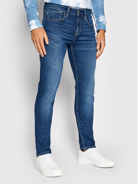 Pepe Jeans Pepe Jeans Jeansy Hatch PM205476 Granatowy Slim Fit