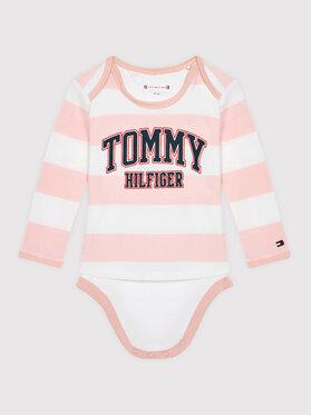 Tommy Hilfiger Tommy Hilfiger Body dziecięce 2 Piece KN0KN01243 Różowy