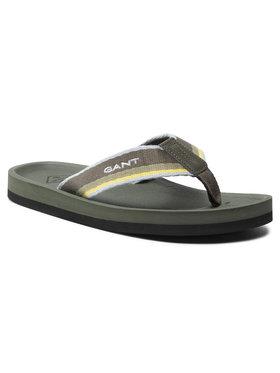 Gant Gant Flip-flops Palmworld 22698661 Zöld