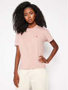 Napapijri Napapijri T-shirt Salis NP0A4EYP Rose Regular Fit